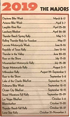 2019 Major Bike Events